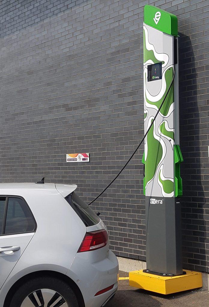 subventions bornes recharge voitures electriques