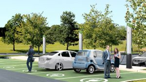 how to install electric car charging station